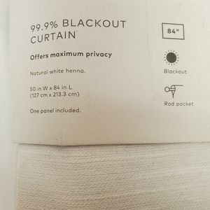 project62 Accents - Blackout curtain panel